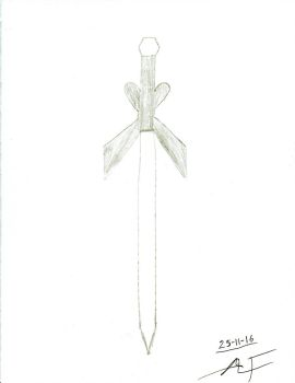 Butterfly Sword by Raven-Ironclaw