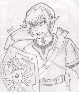 Angry Link by Inouskei