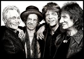 The Rolling Stones by Marvolo-san