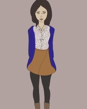 April Ludgate-Dwyer by Norvere