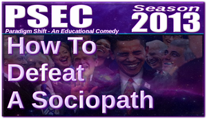 How To Defeat A Sociopath Logo by paradigm-shifting