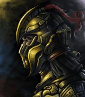 Gold Helm Concept by Aziore