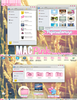 MacPink Theme For Iconpackager by TutosCreateBluue
