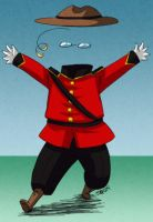 The Invisible Mounty by iPl0x