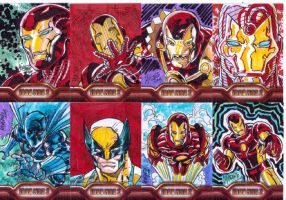 more iron man cards b by gammaknight