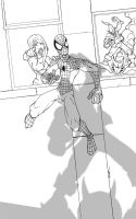 watch out spidy... ink by thenota