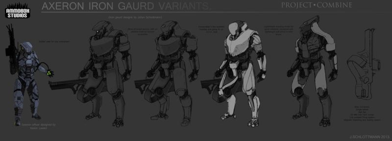 Iron-gaurd-variants by FutureFavorite