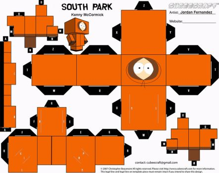 South Park Kenny Cubee Templat by jordof131
