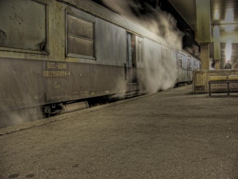 Plovdiv central station by undivulged