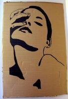 Stencil - Saskia by color-me-red