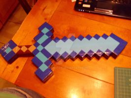 Diamond Sword by brandyfox
