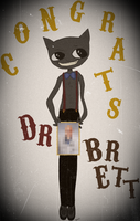 congrats cat by beyourpet