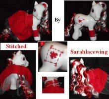 My Little Pony Custom Stitched by Ember-lacewing
