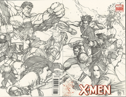 Frank Keener's Revolutionary X-men by Ace-Continuado