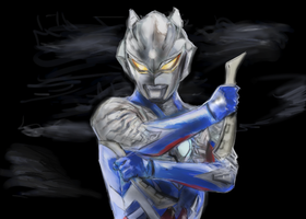 ULTRAMAN ZERO by sipasipapi