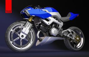honda NAS blue by dwiirawan