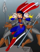 Superwoman in Apokolips c by Rogelioroman by THE-Darcsyde