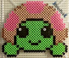 Cute Turtle by PerlerPixie
