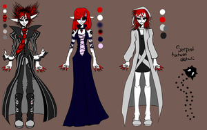 Bellus Outfit Variation Ref by SpadeNightmaren