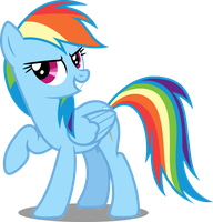 Vector #86 - Rainbow Dash #15 by DashieSparkle