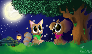 The Firefly Night by Inka-Is-Awesome
