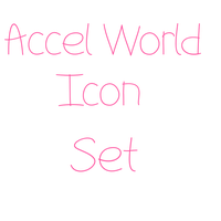 [PC] Accel World Icon - 50 x 50 by xXPinkish-RainbowXx