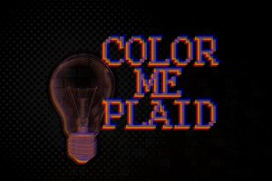 Color Me Plaid Lightbulb by FalloutLuver13
