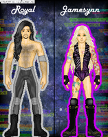 MyWWE: Royal Vs. Jamesynn by TerenceTheTerrible