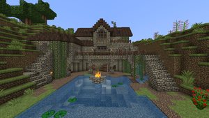 Minecraft - Pond house 2 by Homunculus84