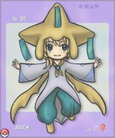 385 Jirachi by Dice9633