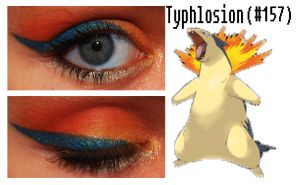 Pokemakeup 157 Typhlosion by nazzara