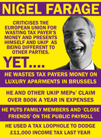 The Hypocrisy of Farage by Party9999999