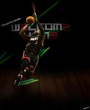 Dwyane Wade 'Welcome Home' by LeBron6