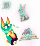 Mika the Lil Guy [MYO entry] by iSpazzyKitty