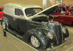37 Ford delivery sedan by zypherion