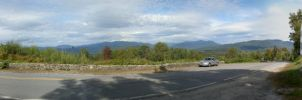 White Mountains panorama by BellaCielo