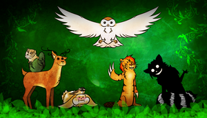 The Woodland Creatures of Anachron by WolfShadow115
