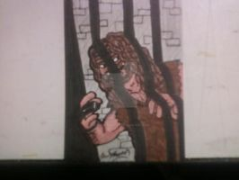 WWE SUPERSTAR MANKIND by shawncomicart