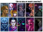 Favorite characters meme by Phobos-Romulus