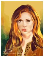Amy Pond by Vikki93