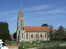 the church at Marlow bucks by Sceptre63