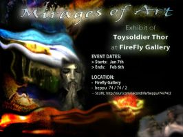 Exhibit_SecondLife FireFly Gallery by ToysoldierThor