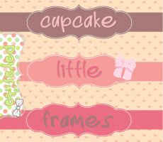 Cupcake Little Frames by Payasiita