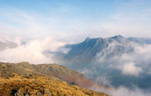 The Langdale Pikes by scotto