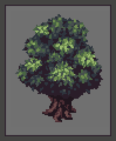 Pixel Tree v1 by LilioTheOne