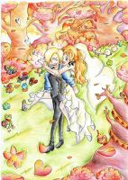Sanji and Nami by PrincessPokemon