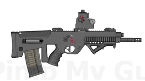 MPD-10 Assault Rifle by ThantosEdge
