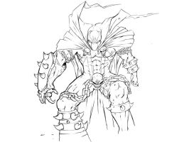 spawn line work by Deathares
