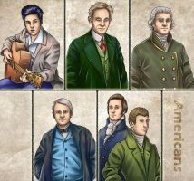 Historia DA collection - Americans by Lythilien