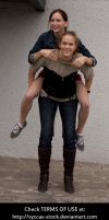 G+S: Piggyback 5 by syccas-stock